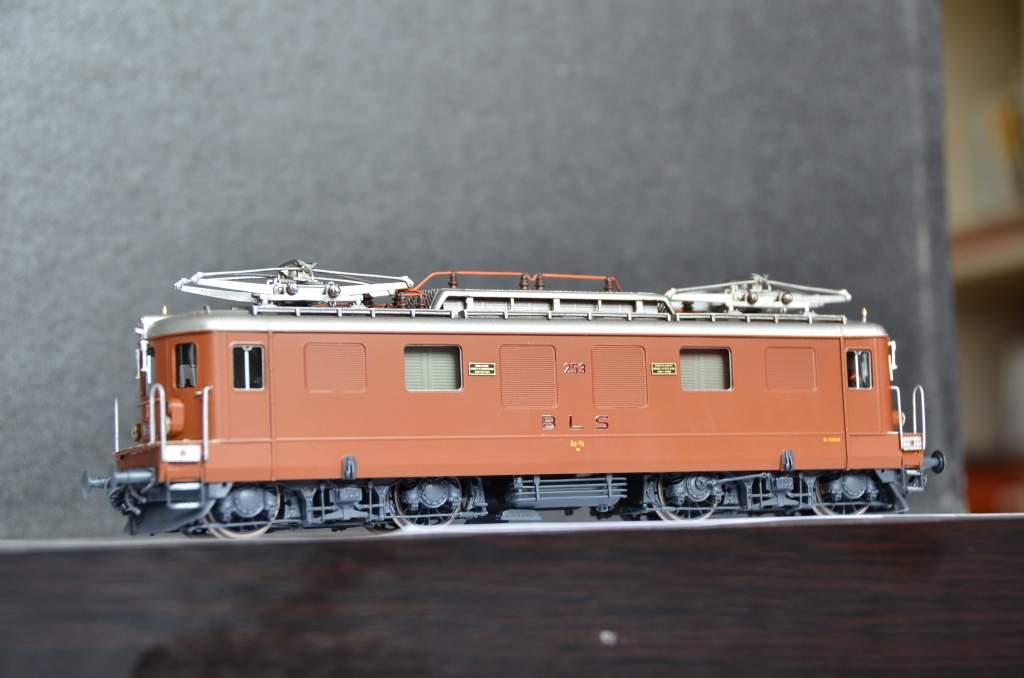 European Prototypes Fulgurex 22621 BLS Ae 44 253 2 Panto Electric Locomotive-8770