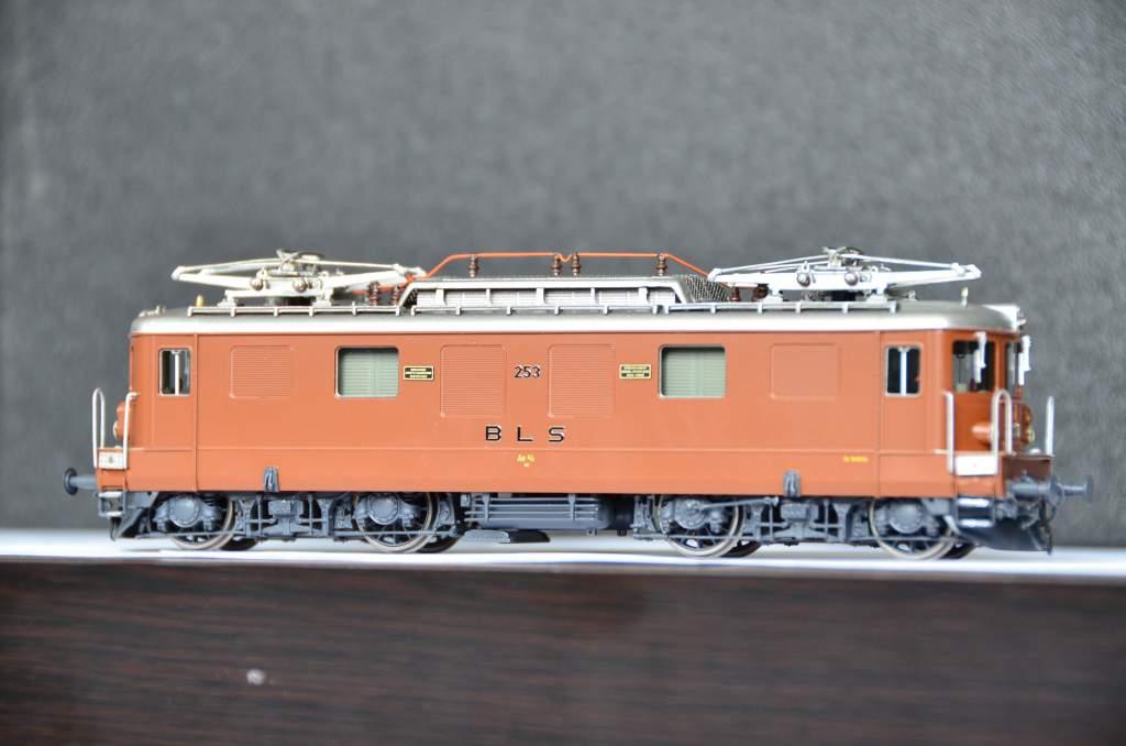 European Prototypes Fulgurex 22621 BLS Ae 44 253 2 Panto Electric Locomotive-8771