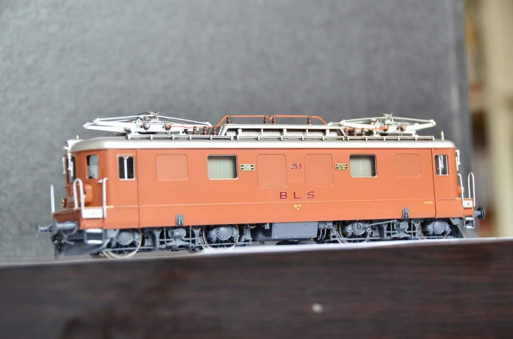 European Prototypes Fulgurex 22621 BLS Ae 44 253 2 Panto Electric Locomotive-8774