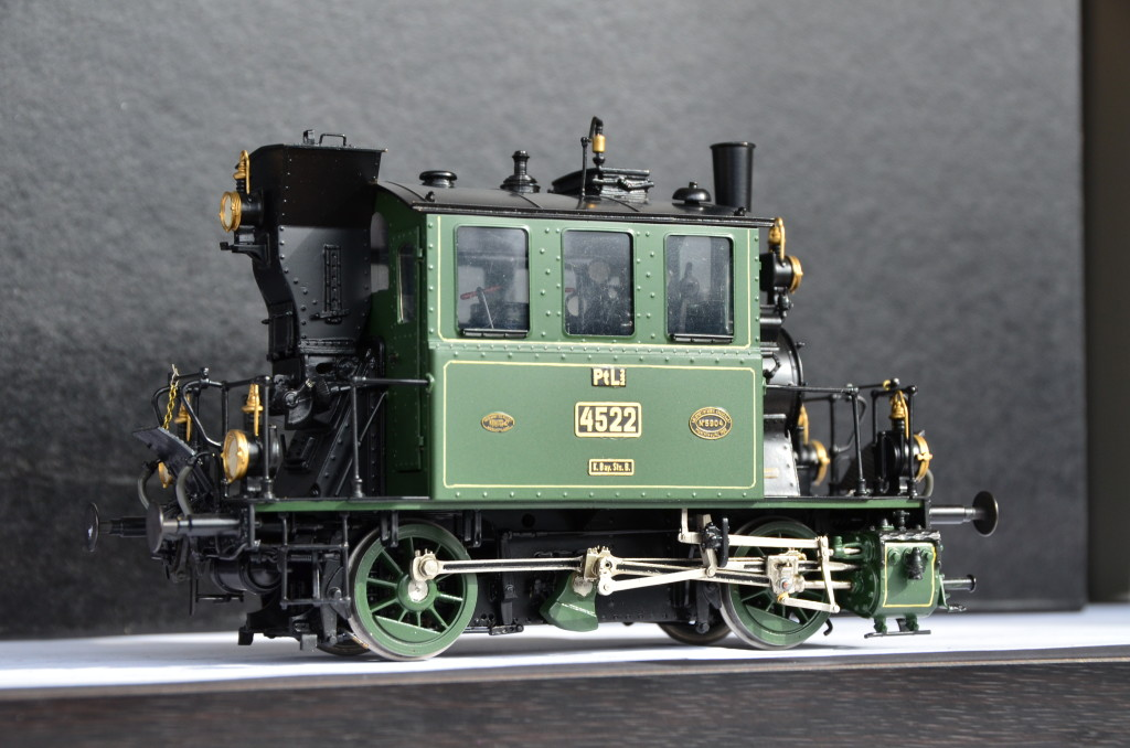 Brass Department Philotrain O Scale K Bay Sts B Ptl 2 2