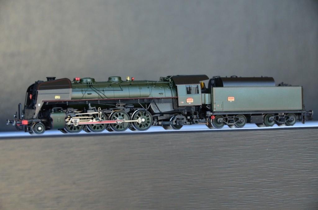 Brass Department | Lematec N-206/3 SNCF 141R 1155 Steam