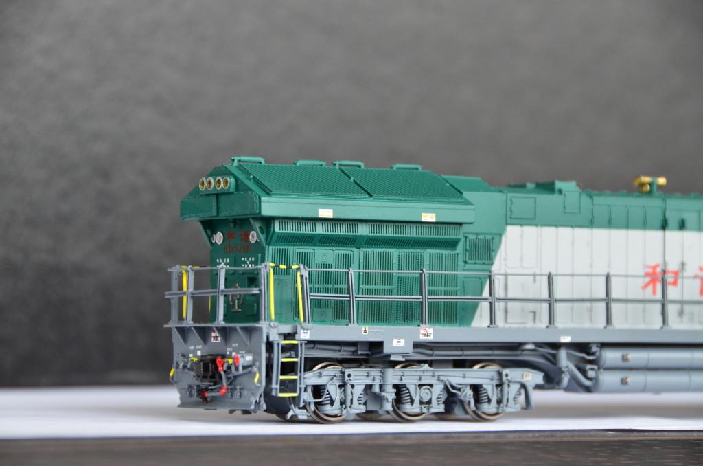 Brass Department Orangutan Model China Railway Hxn5 Ge