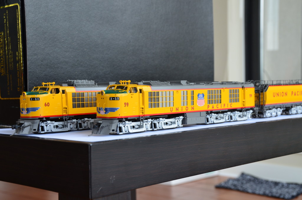 Brass Department Overland Omi 6708 1 Union Pacific